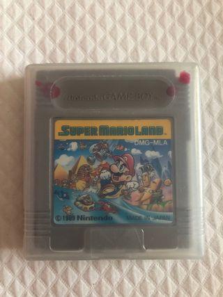 Videojuego súper Mario bros game boy