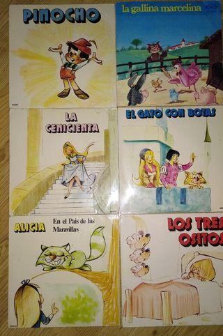 Discos de vinilos de niños