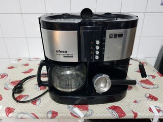 Cafetera Ufesa Dueto dual.