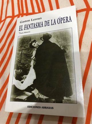 Libro El fantasma de la Opera de Gaston Leroux