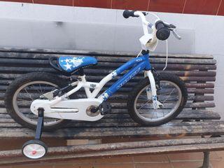 bicicleta monty mini bmx 16 pulgadas