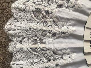 Abanico blanco de novia