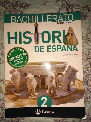 2 BACHILLERATO HISTORIA DE ESPAÑA