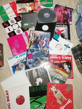 lote discos maxis y lps