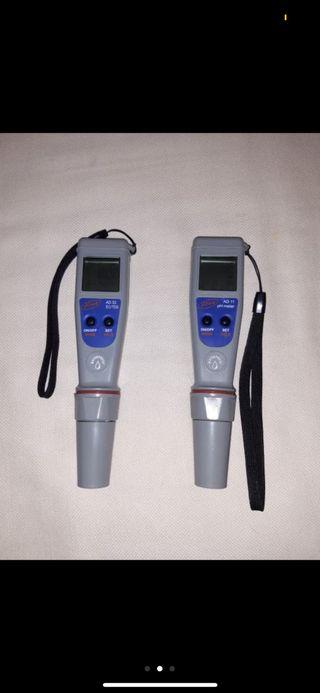 Medidores de PH y EC sumergible adwa