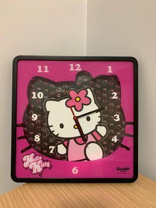 Reloj pared Hello Kitty