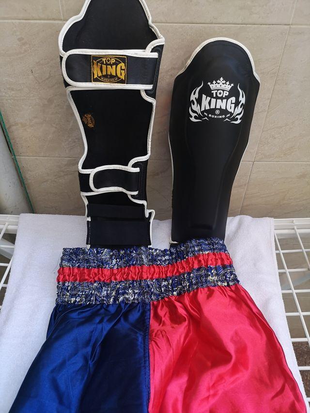 Espinilleras Muay Thai kick boxing
