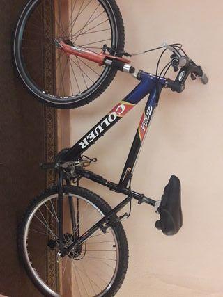 bicicleta coluer furia con rueda de atrás nueva