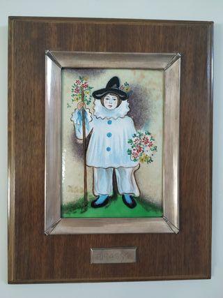 Cuadro esmalte Picasso