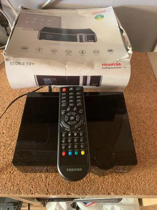 Disco duro multimedia Thosiba store.e Tv+