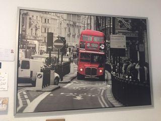Cuadro autobus Londres
