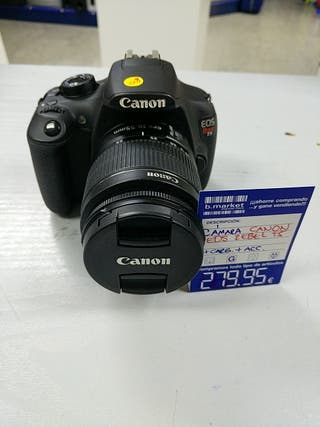 cámara fotográfica con eos Rebel t5