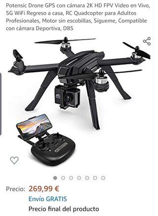 Drone GPS con cámara 2k.NUEVO