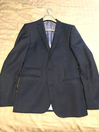 Blue French Connection Blazer Slim Fit