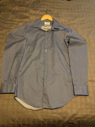 T.M. Lewin Blue Shirt