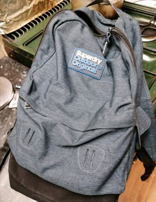 superdry bag blue
