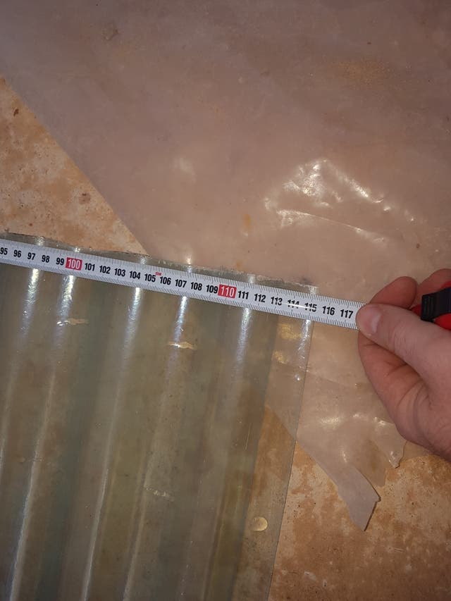 Chapas para tejado transparentes de poliéster