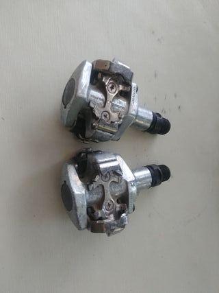 Pedales automático Shimano