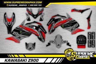 Kit adhesivos Kawasaki Z