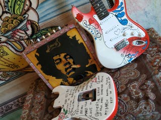 Guitarra Stratocaster Jimi Hendrix