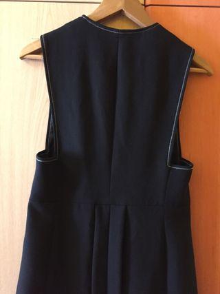 Chaleco largo elegante Zara
