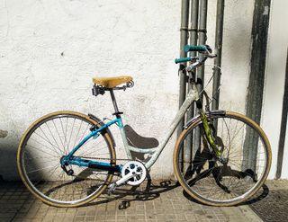 bicicleta paseo,ciudad,urbana