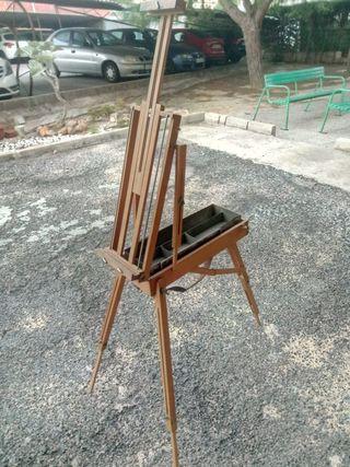 Caballete de pintura profesional