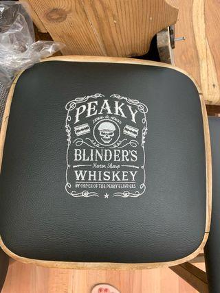 Peaky blinders bar stool