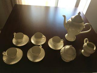 Servicio café de porcelana La Pontesa