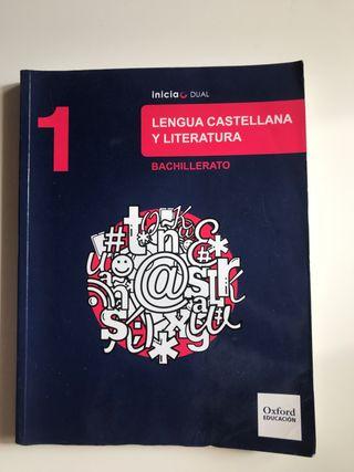 Libro de Lengua castellana Primero de bachiller