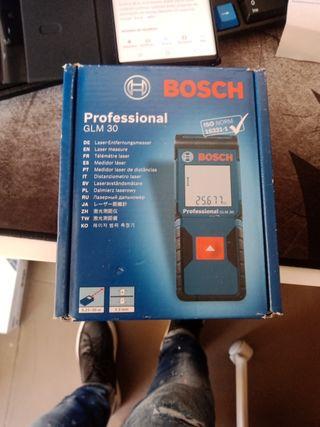 medidor laser bosch profesional glm30
