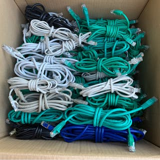 Lote cables Ethernet CAT6