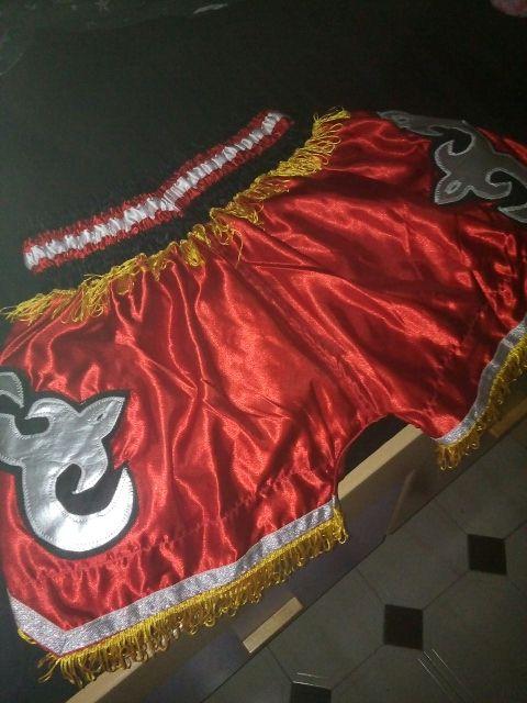 Pantalón muay thai/boxeo/kick boxing