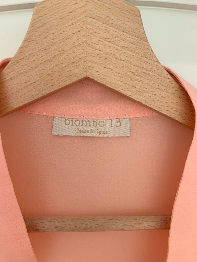 Blusa Arena talla S Biombo 13 Bimani 13 rosa