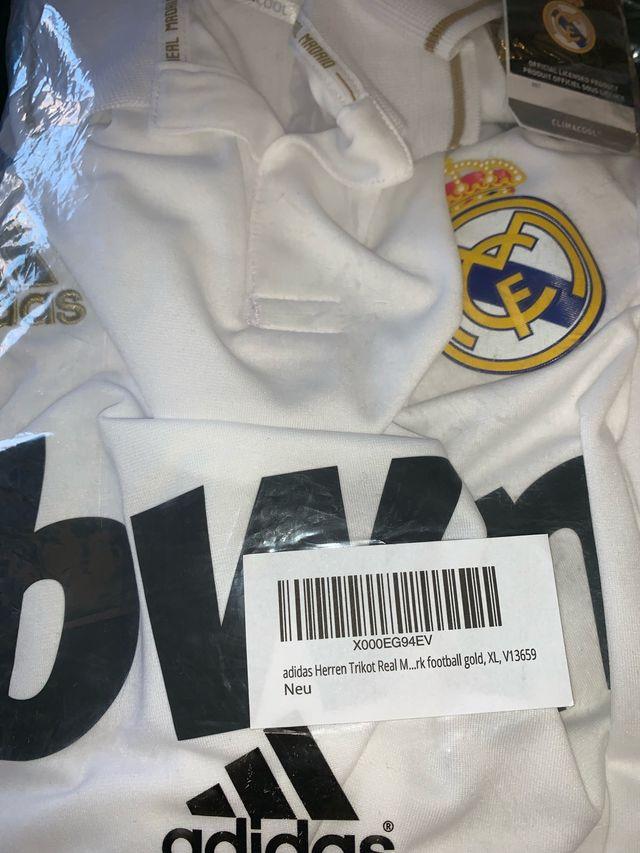 NUEVA camiseta Real Madrid 2011-2012 talla XL orig