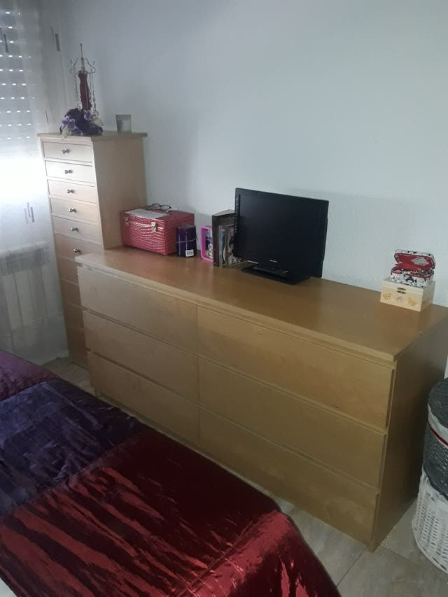 Sinfonier dormitorio Ikea