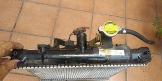Radiador con ventilador coche