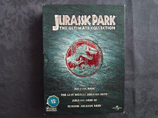 Jurassic Park: Trilogía (4 dvds)