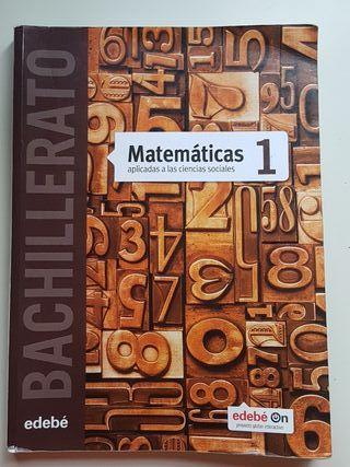 Libro de matemáticas Edebé 1° Bachillerato