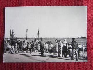 CAMBRILS. BARCAS PESQUERAS. 1962