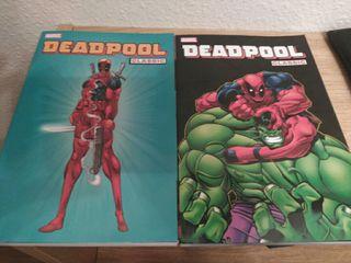 Deadpool classic vol 1 y 2. Comics marvel.