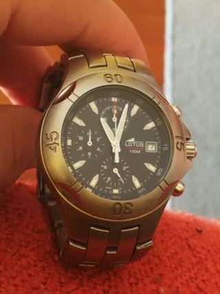 Reloj Lotus titanium.
