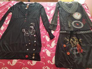 Pack 2 vestidos Desigual talla M