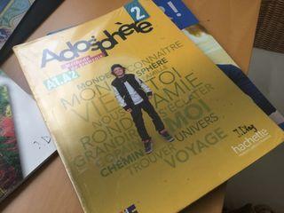 Libro francés adosphère 2 a1.a2 sm