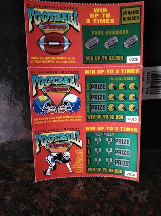 billetes lotería FOOTBALL FEVER