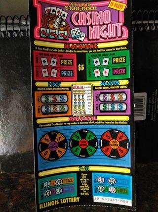 billete loteria Casino Night