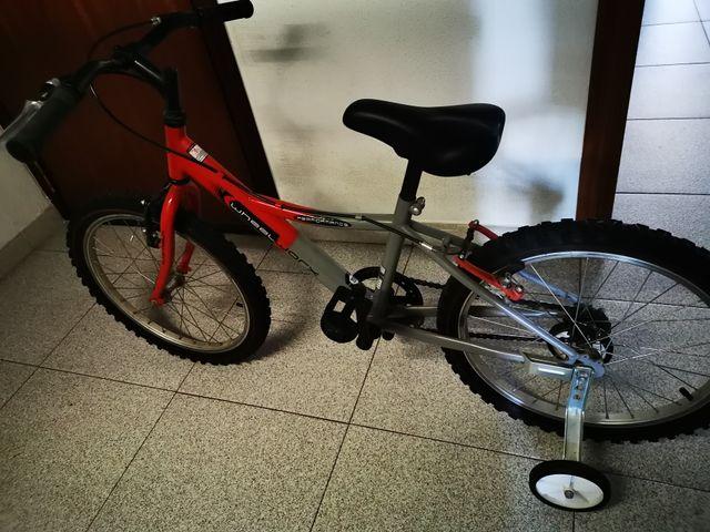 """bicicleta junior 20"""" niño niña"""