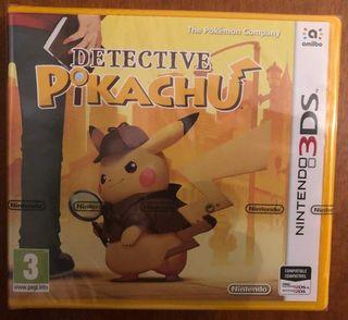 DETECTIVE PIKACHU 3DS NUEVO