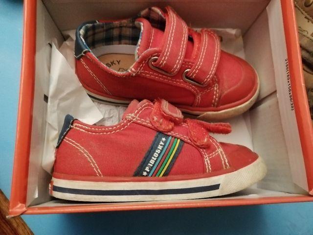 calzado niño numero 22