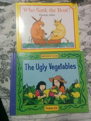 Dos libros infantiles en inglés